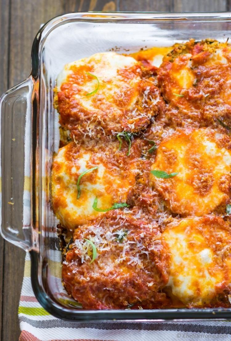 Vegetarian Eggplant Parmesan Lasagna Chefdehome Com Eggplant Parmesan Eggplant Recipes Parmesan Recipes