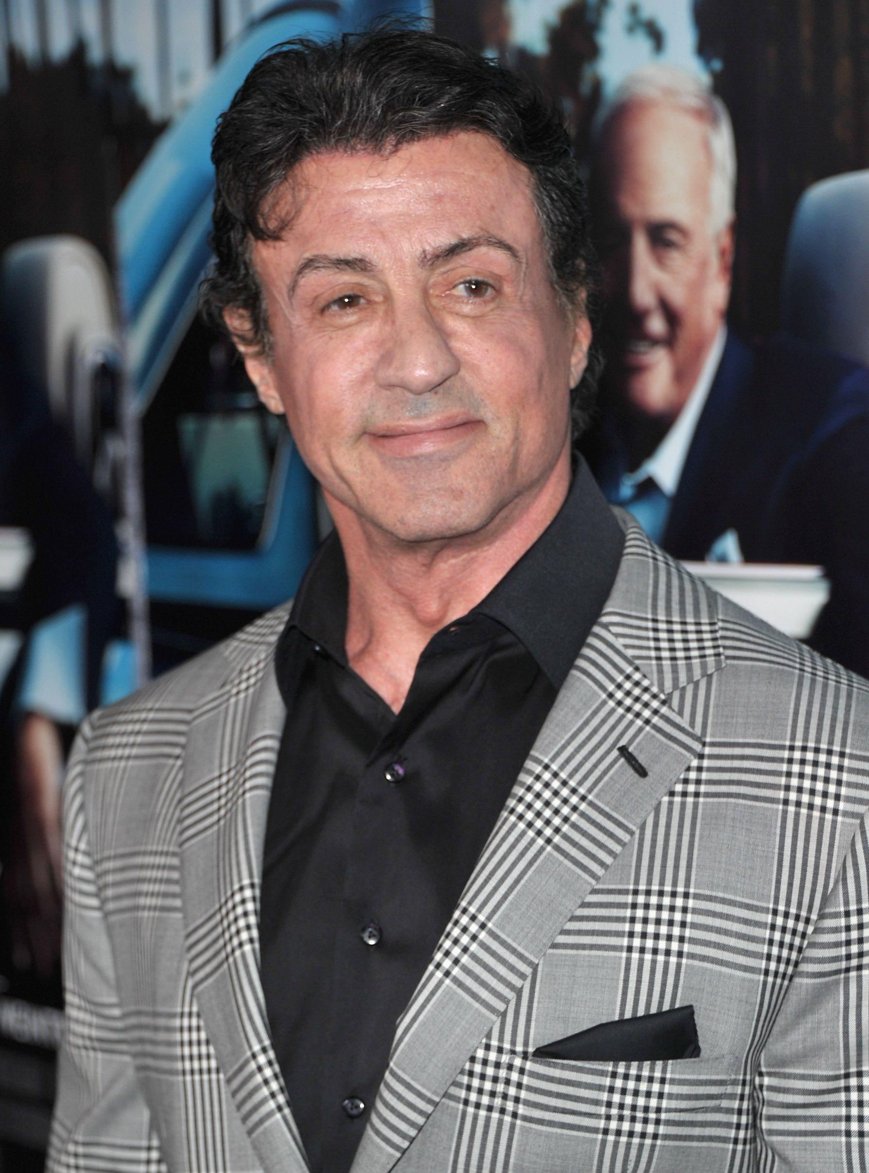 Sylvester Stallone arr...