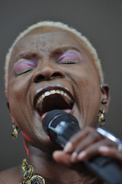 Angelique Kidjo at folk fest