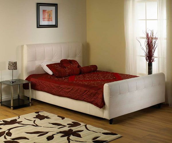 Star Collection Westminster 3FT Single Leather Bedstead