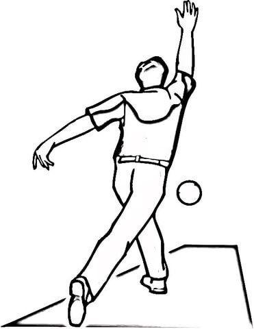 Bolos Dibujo para colorear | Deportes. Sports | Pinterest | Sports