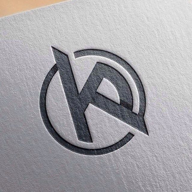 KP initials, logo/mark for personal use KP Project #art #artist
