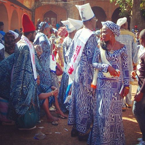 At The Sultan's Palace In Foumban/Founban, Men And Women