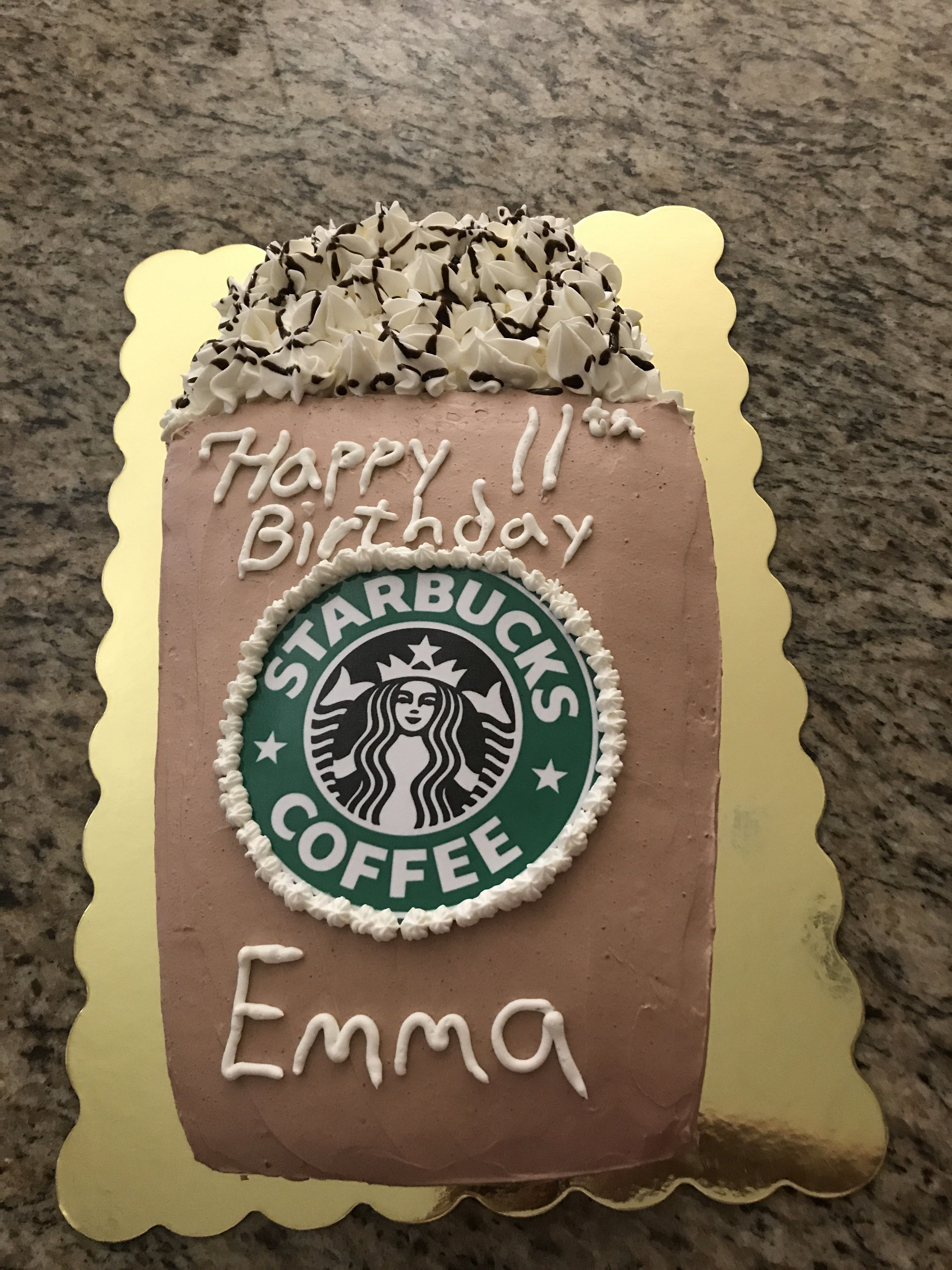 Birthday cake idea  #starbuckscake Really creative Starbucks cake . Again an idea for a perfect cake #starbuckscake Birthday cake idea  #starbuckscake Really creative Starbucks cake . Again an idea for a perfect cake #starbuckscake