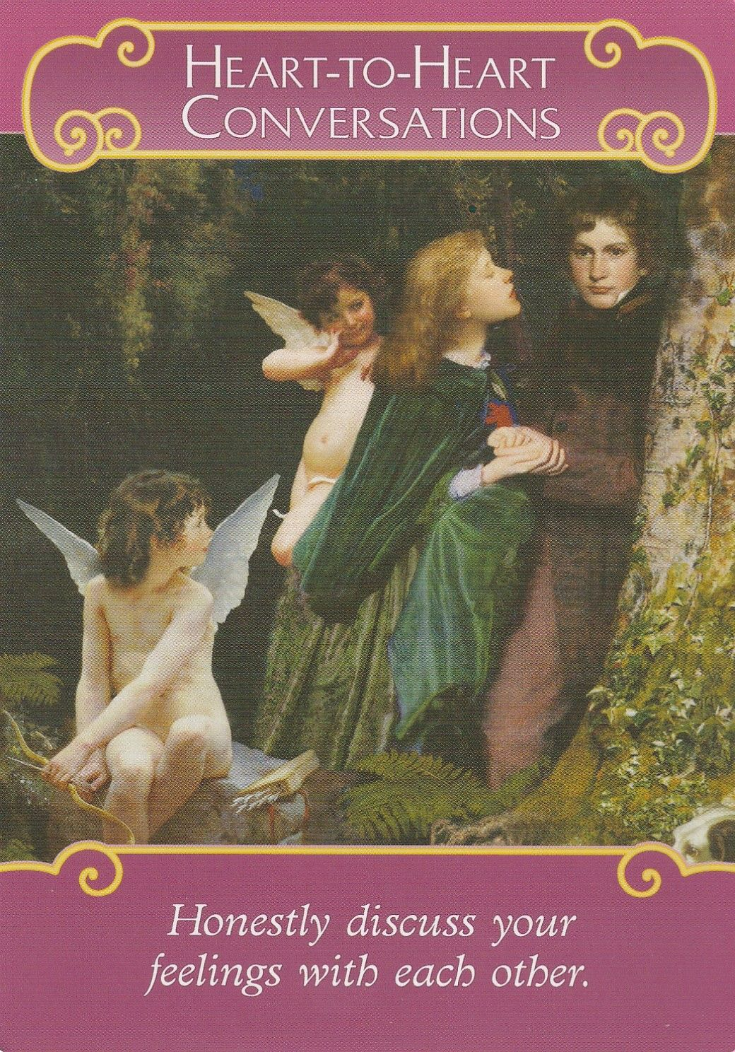 THE ROMANCE ANGELS ORACLE CARDS BY DOREEN VIRTUE | Spirituality