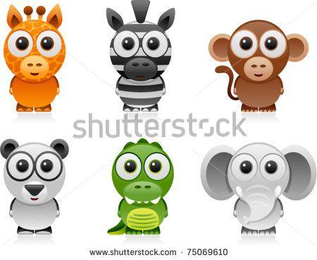 Animals Stock Vectors & Vector Clip Art | Shutterstock