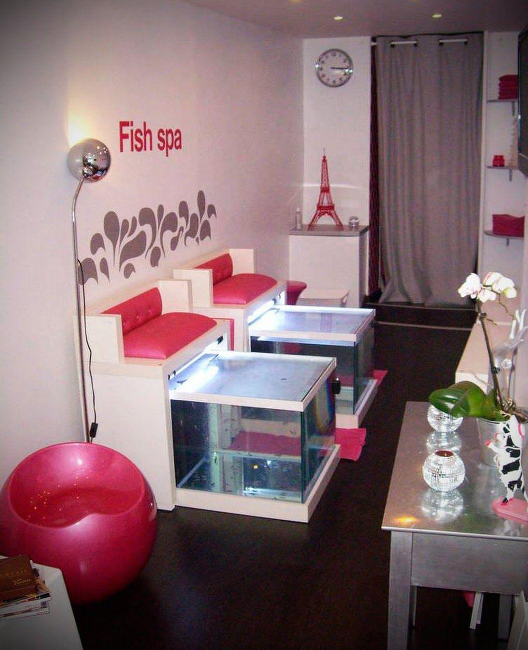 Fish spa installé et entretenu par #Aquarium Services France ...