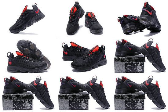 reputable site d9a6d a6e48 Free Shipping Only 69  LeBron 14 XIV Low Black Sport Red Bred
