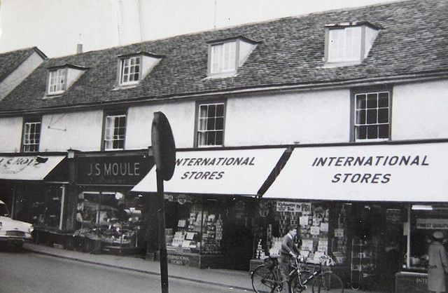 International Stores Old Harlow Essex 1960s Essex Harlow Hertfordshire