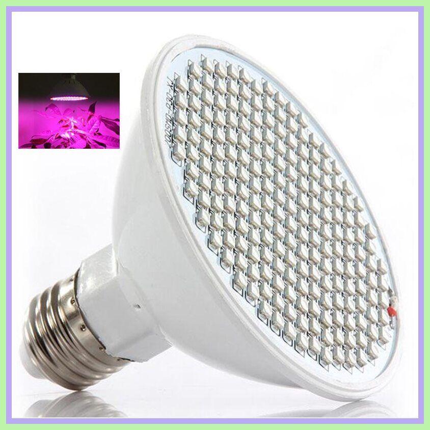 1* 200LED Grow Light Lamp Flower Growing Lights Bulbs Hydroponics