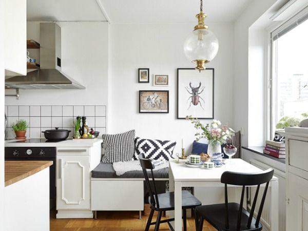 Keuken en eetkamer 16m2 pinterest eetkamer klein wonen en keuken