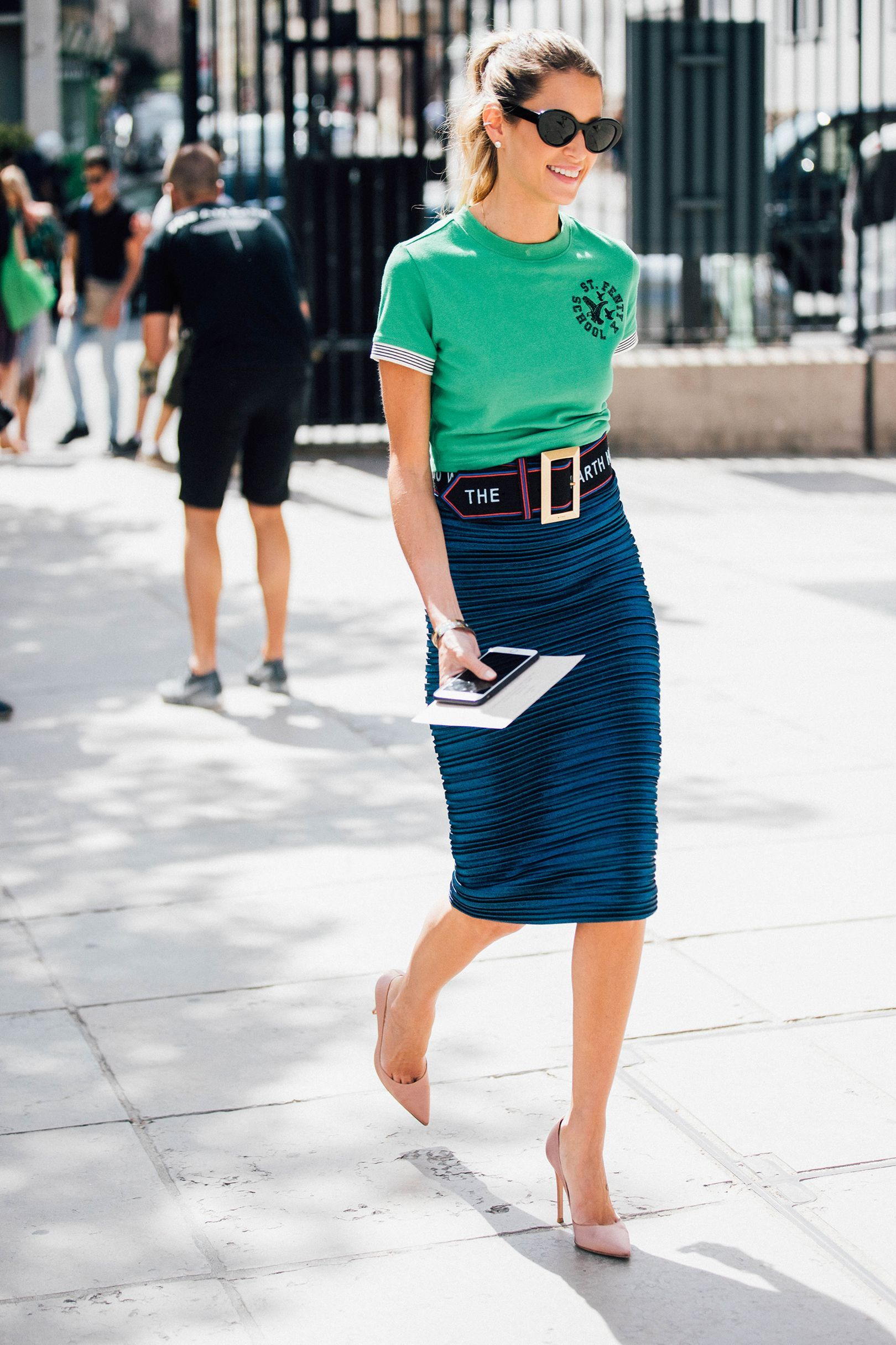 Street forum style flirty in fluttering skirts advise to wear for on every day in 2019