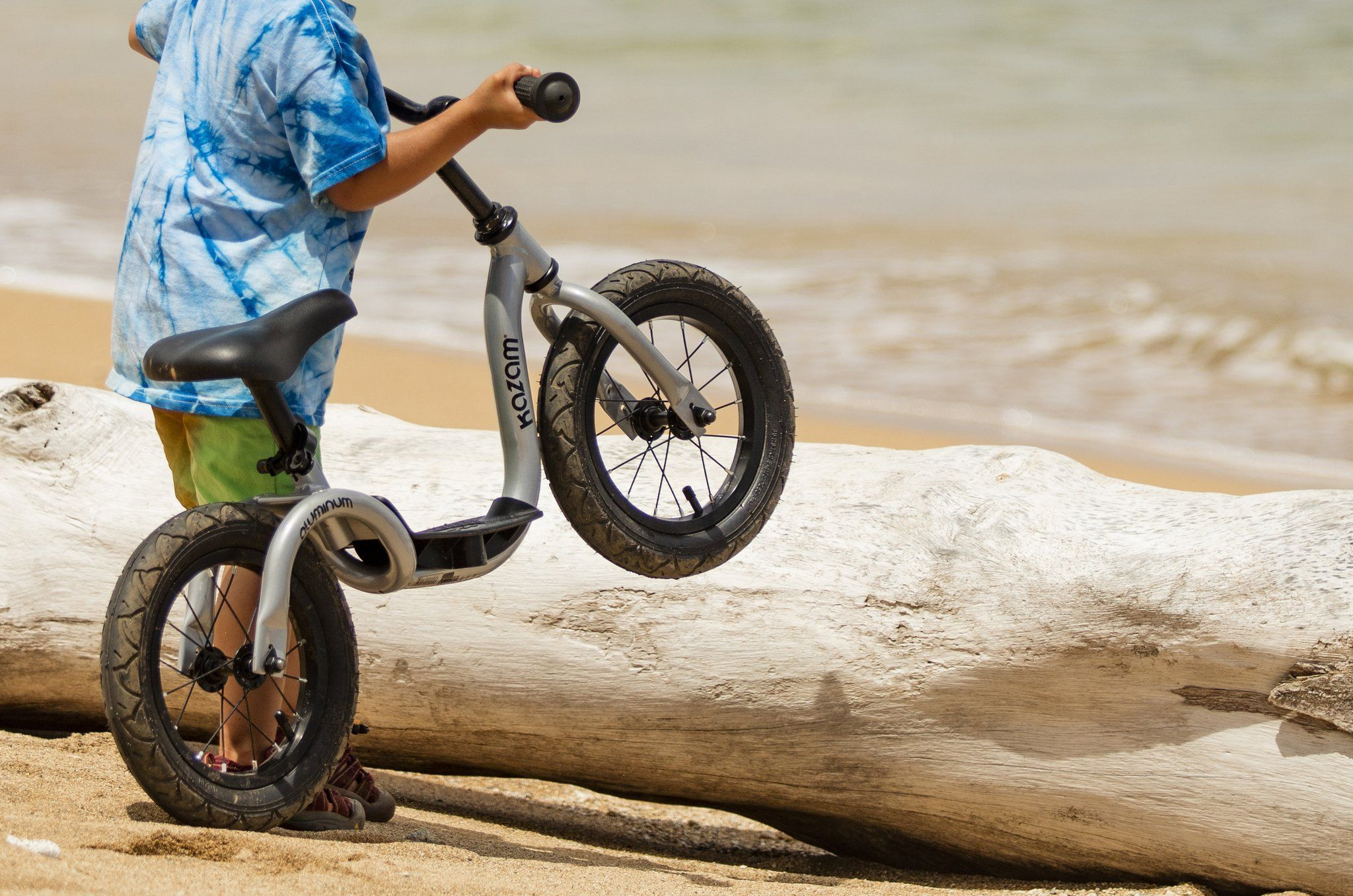 Teach Your Child S How To Ride A Balance Bike With The Kazam