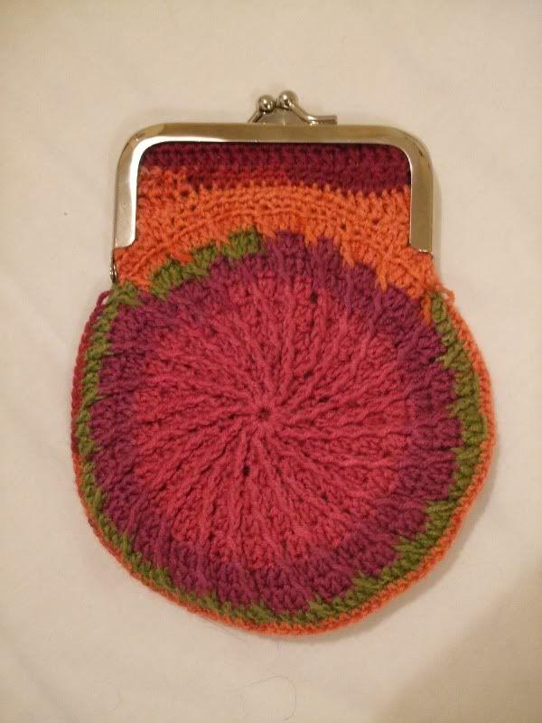 Free Pattern Kiss Clasp Crochet Purse Round Crochet Ideas