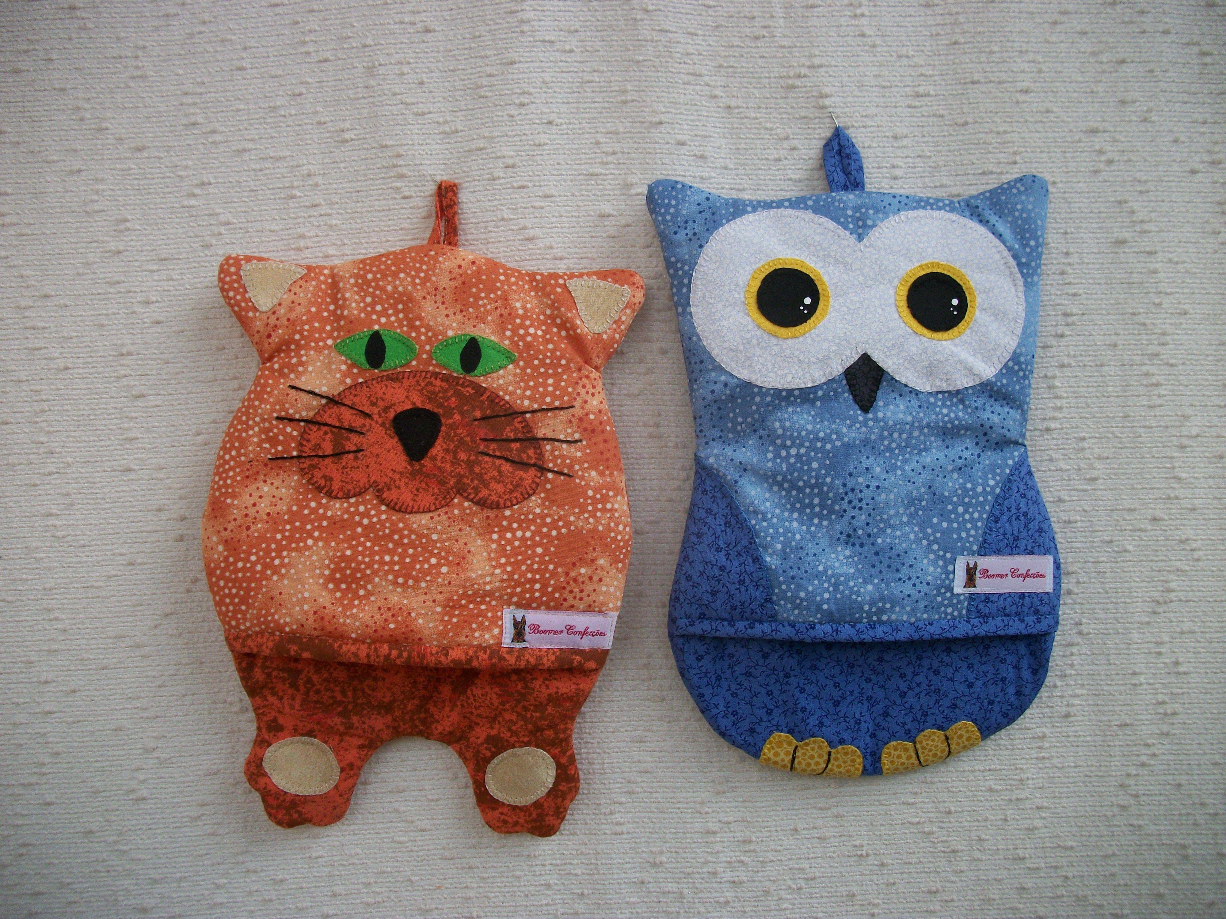Pegador de panela artsboomer.blogspot.com.br