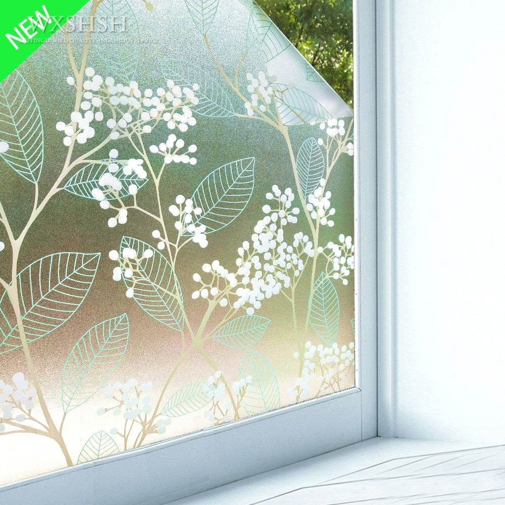 Cheap Decorative Films Buy Directly From China Suppliers 30x100 Cm Self Adhesive Stained Home Decorative Windo With Images Decorative Window Film Window Film Window Decor