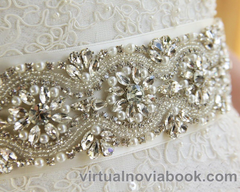 Cinturón de pedrería :: Virtual Novia Book   bride   Pinterest ...