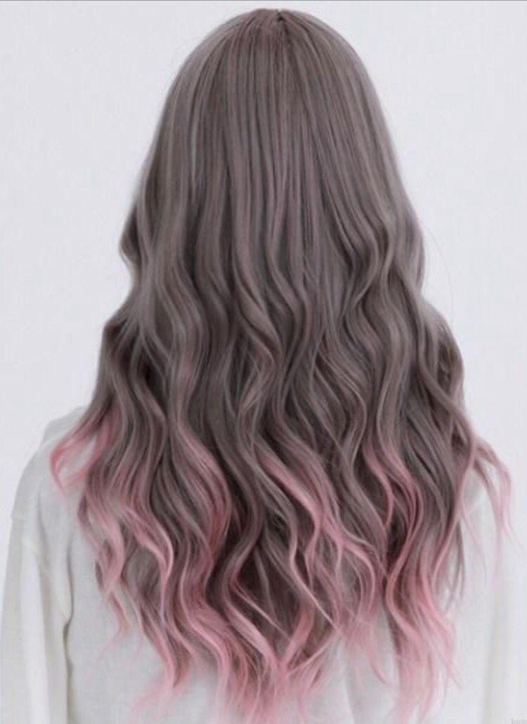 Pink Dipdye Hair Hair Pinterest Dye Hair Hair