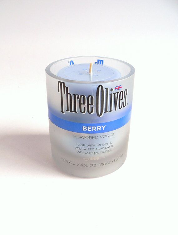 Three Olives Berry Candle Holder