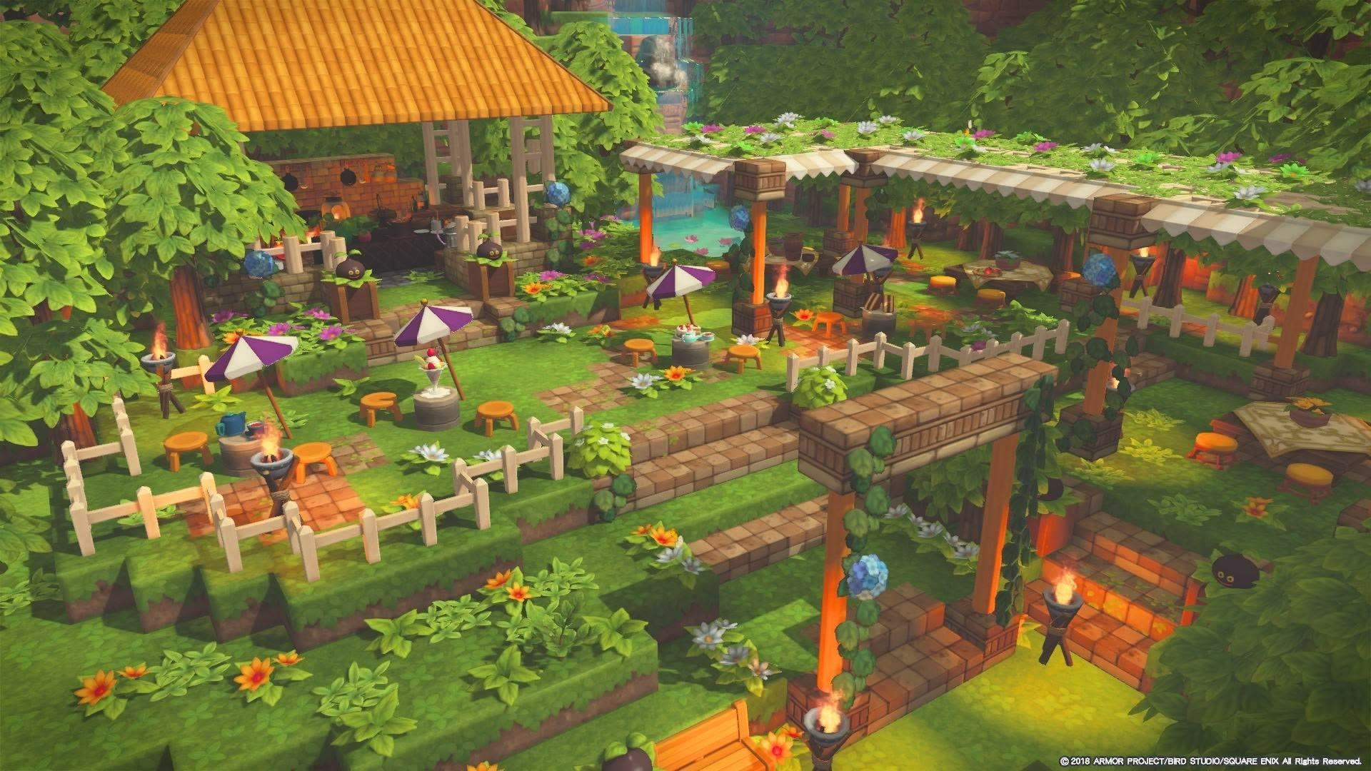 ビルダーズギャラリー ドラゴンクエストビルダーズ2 Square Enix マインクラフトの建物 マインクラフトの家 マインクラフトの家具