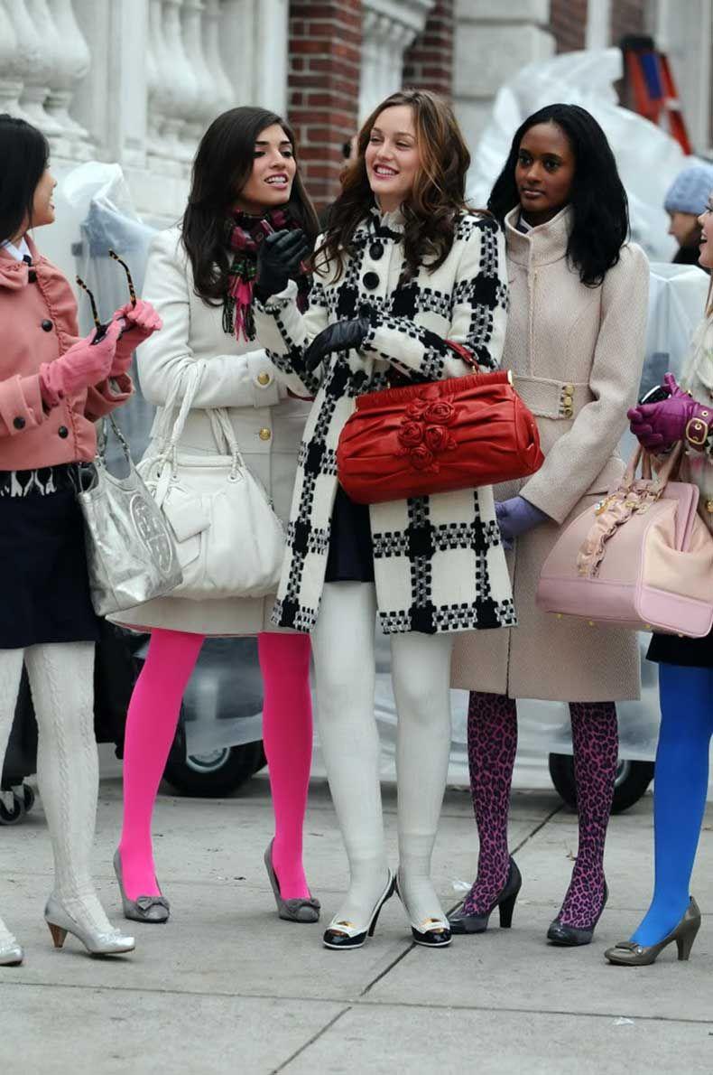 25 Formas Chic De Usar Medias Trajes de gossip girl
