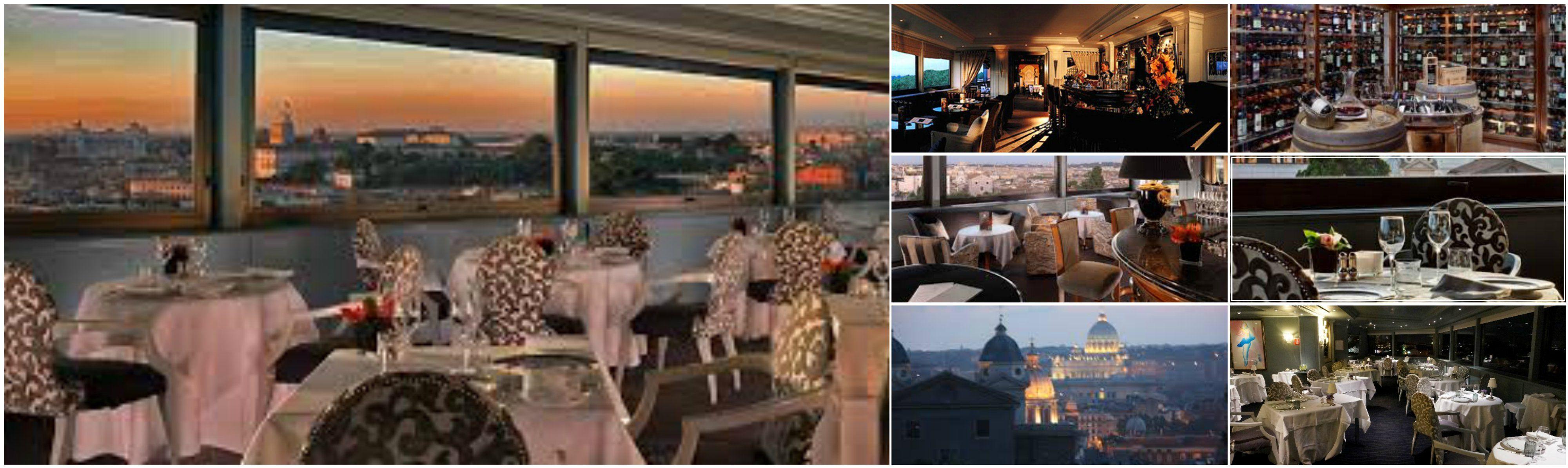 Terrazza dell\'Eden, Hotel Eden, Rome day 5 dinner   Italy ...