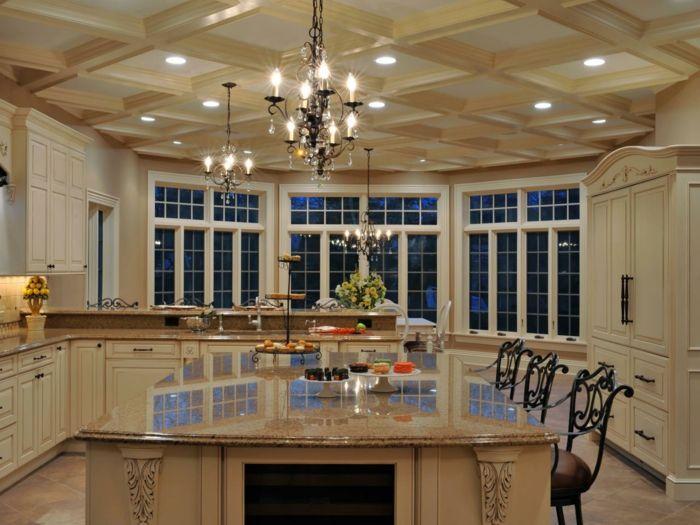 küchenideen abgehängte decke zimmerdecke Interieurdesign Pinterest - abgehängte decke küche