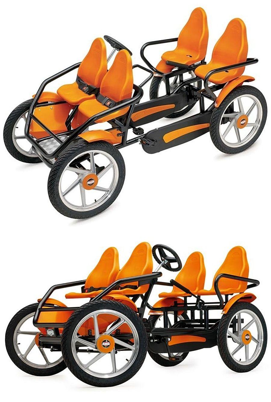 The Touring Quadracycle Hammacher Schlemmer Quadracycle Bike