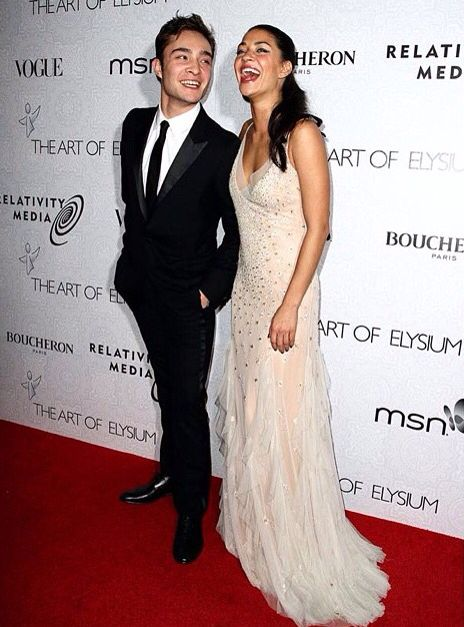 They were perfect together (5 year relationship) // Ed Westwick + Jessica Szohr