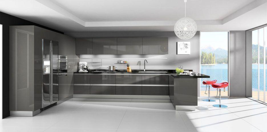 Kuche Gunstige Fertigschranke Vorgefertigte Schranke Online Discount Shaker Cabinets Cheapk In 2020 Modern Kitchen Cabinets Modern Kitchen Design Modern Kitchen