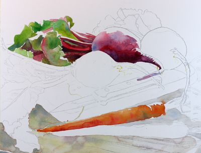 This is the blog of Susan Avis Murphy, Maryland watercolorist, at the ARThouse studio in Sandy Spring.
