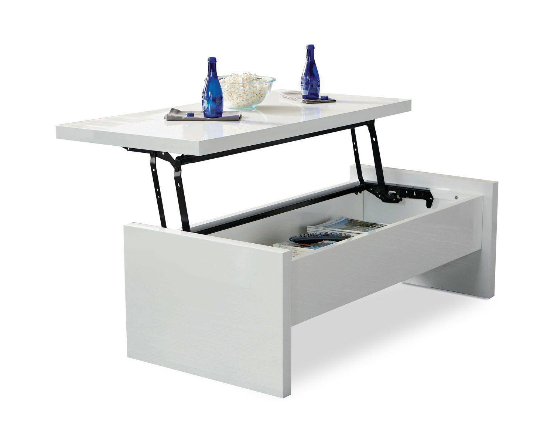 Charlotte Lift Top Coffee Table By Scott Living Dock86 Lift Top Coffee Table Coffee Table Glossy White [ 1198 x 1500 Pixel ]