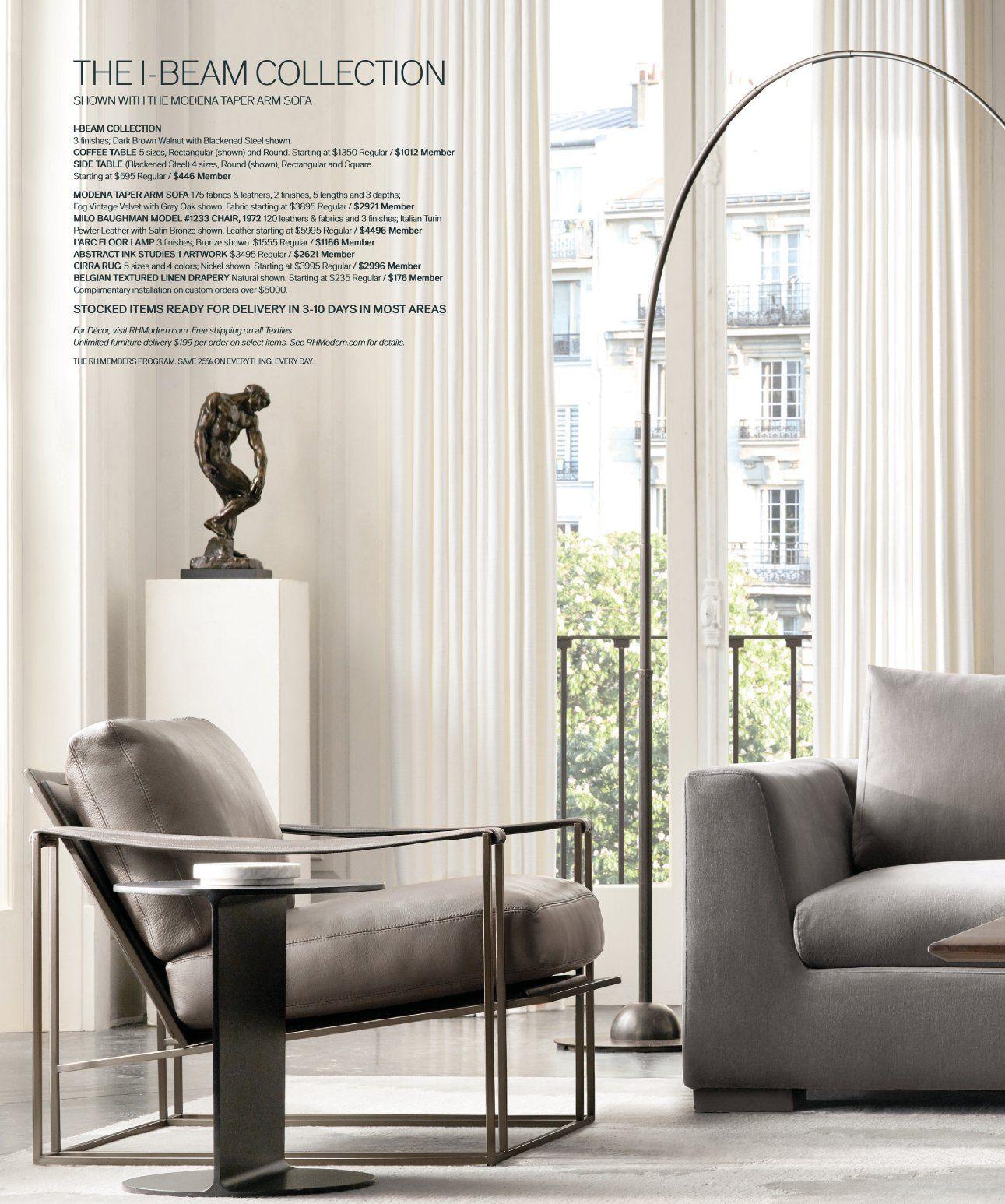 rh source books  rh modern home decor living room decor
