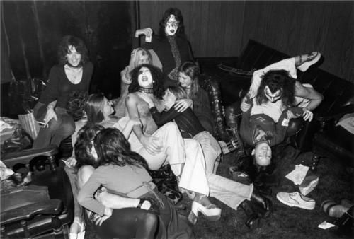 Pin by Steve Kenn on and then came the 70s | Groupies, Hot