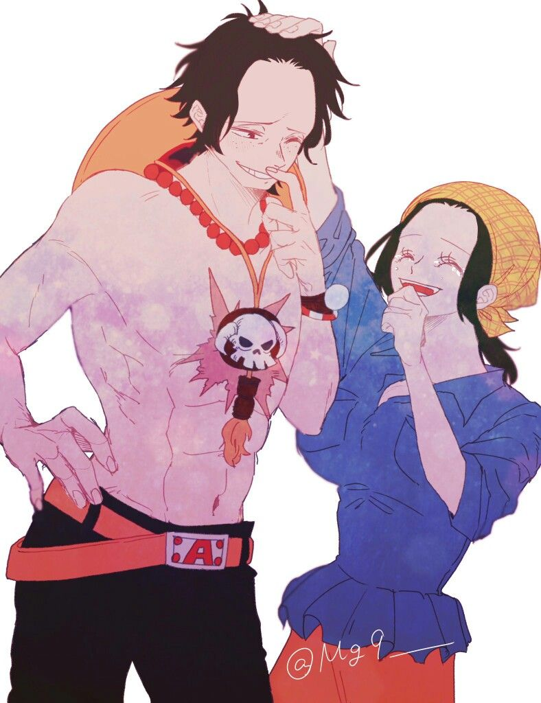 Portgas D Ace Makino One Piece   One piece comic, One ...