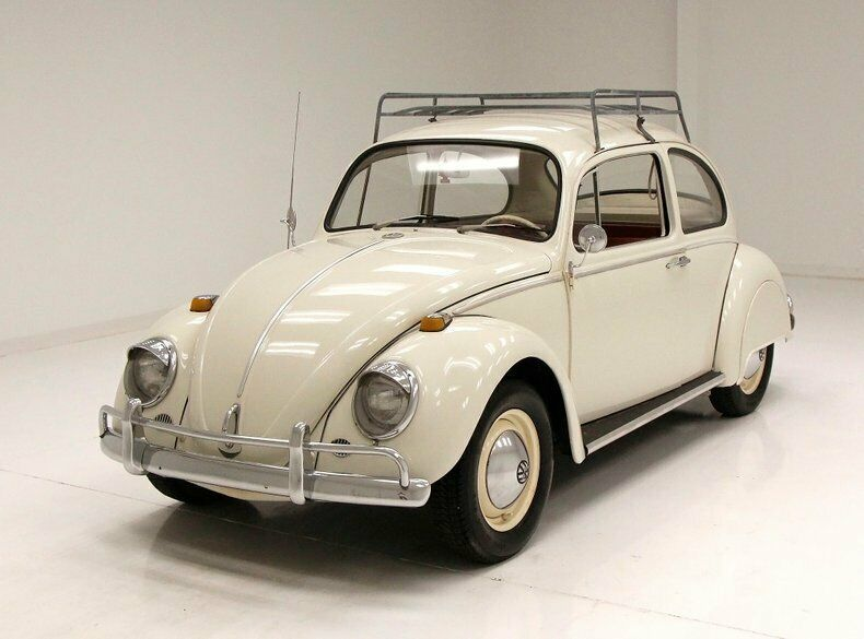 1965 Volkswagen Beetle Coupe Roof Rackfender Skirts Restored Engine Smooth 4 Speed Low Original Miles Volkswagen Beetle Volkswagen Classic Volkswagen Beetle