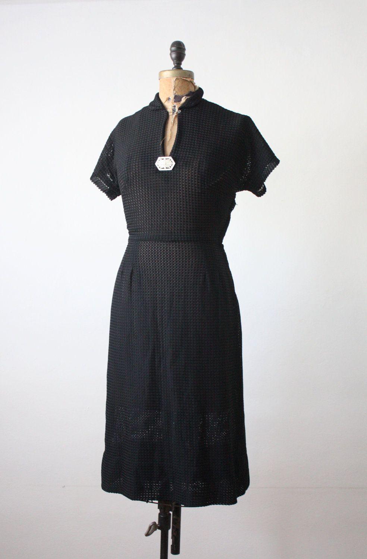1940s Rhinestone Black Dress 1940s Dresses Dresses Trending Outfits [ 1500 x 984 Pixel ]