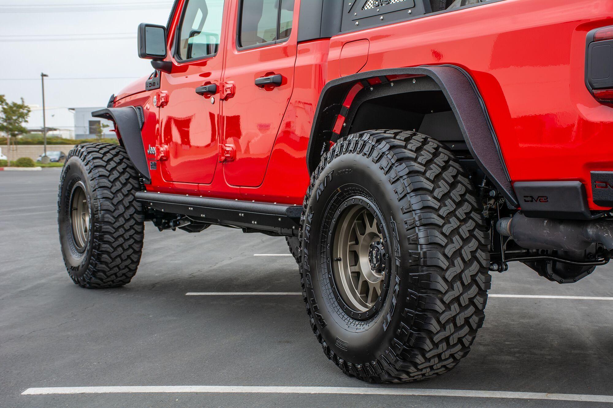 DV8 Offroad FDGL01 Armor Fenders for 2020 Jeep Gladiator