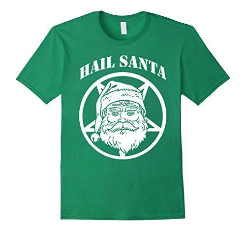 Men's Hail Santa Christmas T-shirt 2XL Kelly Green Santa ... https://www.amazon.com/dp/B01N9AVJOA/ref=cm_sw_r_pi_dp_x_rvupybGAGFEQP