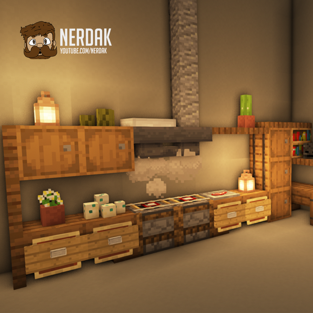 Kitchen - Minecraft tutorial
