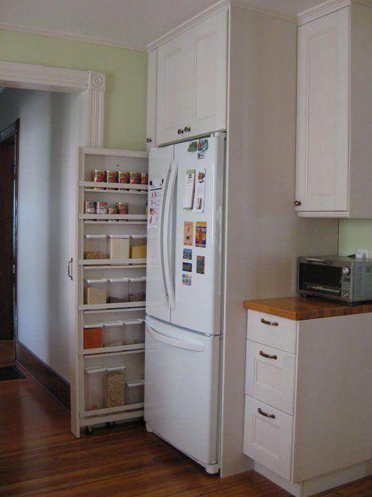 Kitchen Remodel Small Pantry Cabinet, Slim Kitchen Cabinet