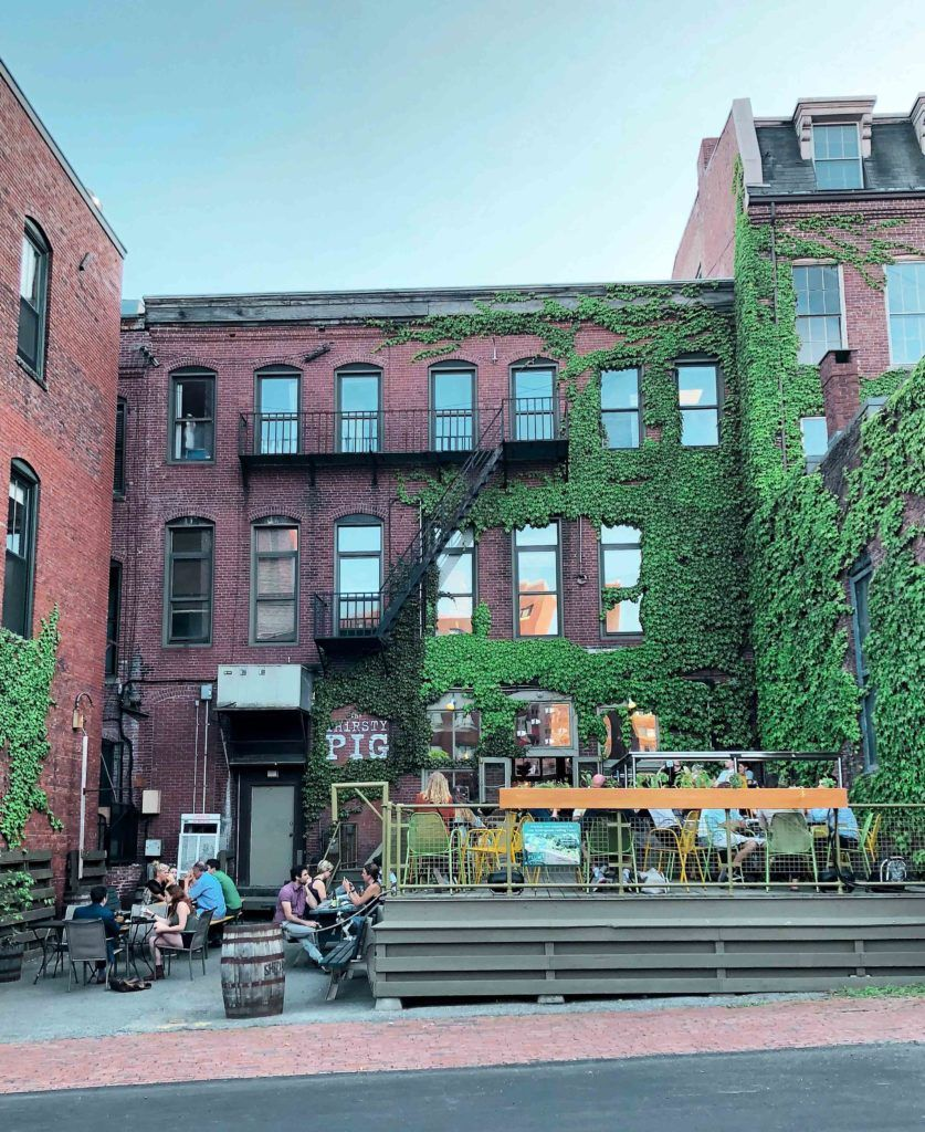 Seven Top Spots for Outdoor Dining and Drinking in