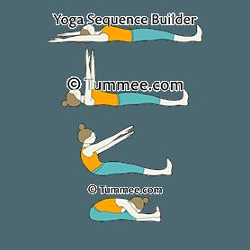 Pilates Roll Up Flow Yoga Yoga Sequences Benefits Variations And Sanskrit Pronunciation Tummee Com Yoga Sequences Pilates Chakra Yoga
