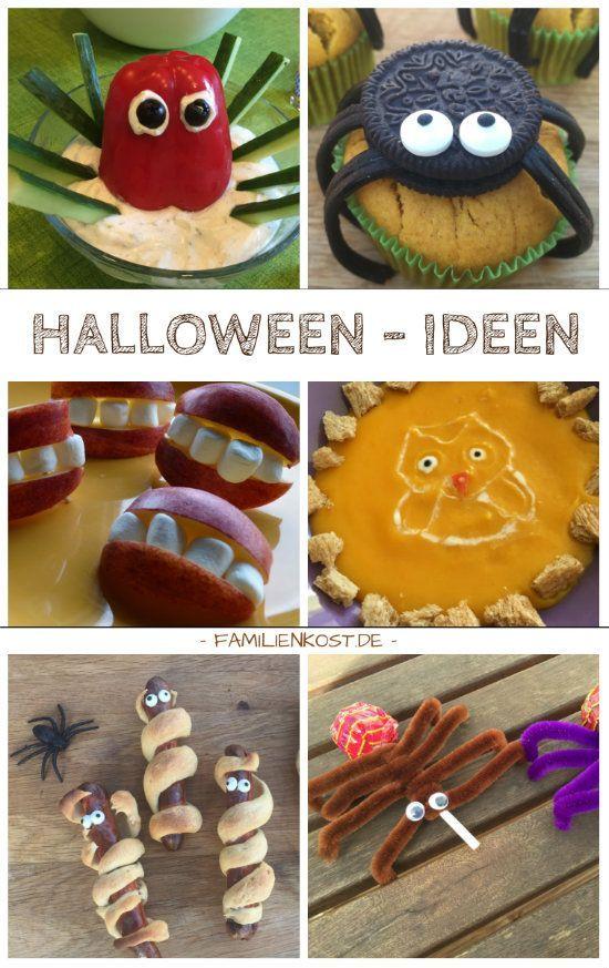 gruselige rezepte und ideen f r eine kinderparty zu halloween spinnenmuffins apfelgebiss. Black Bedroom Furniture Sets. Home Design Ideas