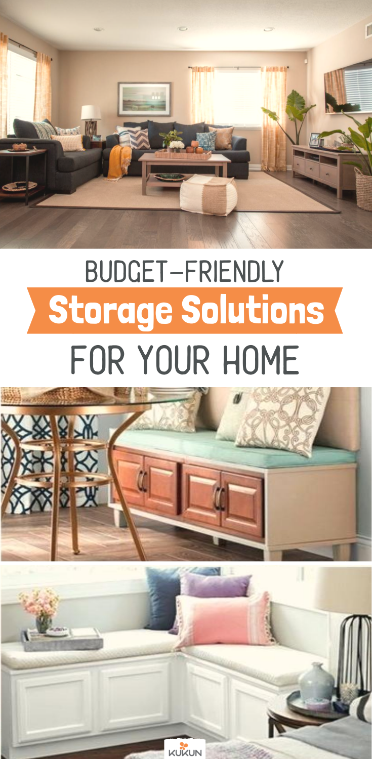5 Budget Friendly Storage Solutions For Your Home Space Saving