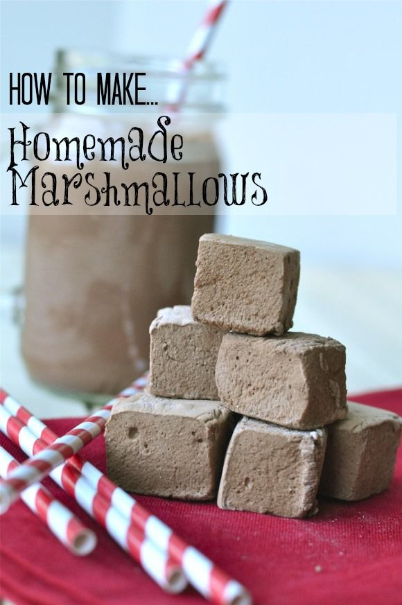 Homemade Marshmallows #marshmallows