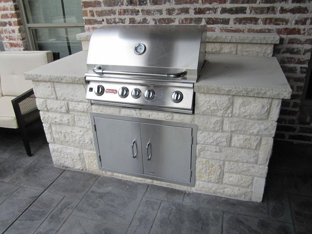 Dallas Outdoor Kitchens are each built one hand hewn stone ...