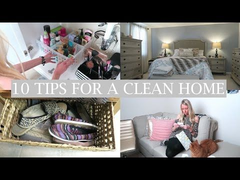 10 Tips For a Clean Home - YouTube
