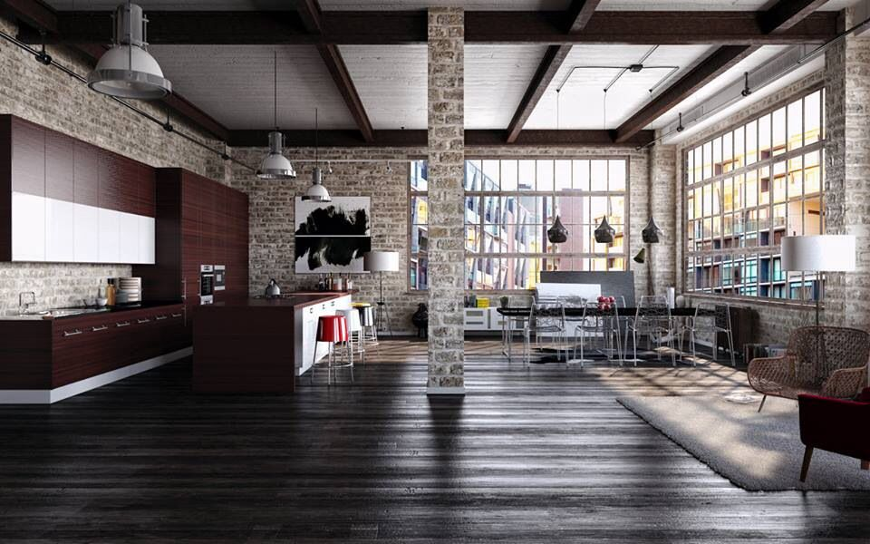 DCNunbelievable beauty in this Spaces Pinterest Industrial