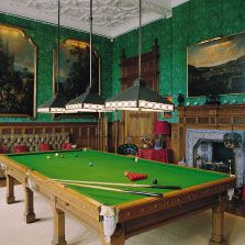 The Billiards Room Holker Hall Is The Home Of The Cavendish